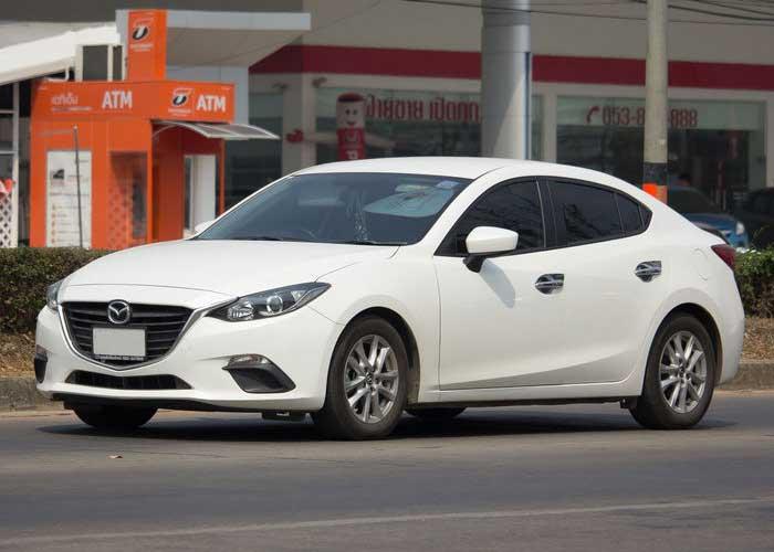 Mazda 3 Sedan Service Perth